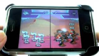iPhone games - Mecho Wars