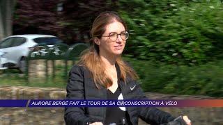 Yvelines | Aurore Bergé fait le tour de sa circonscription à vélo