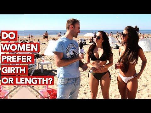 Do women prefer girth or length?