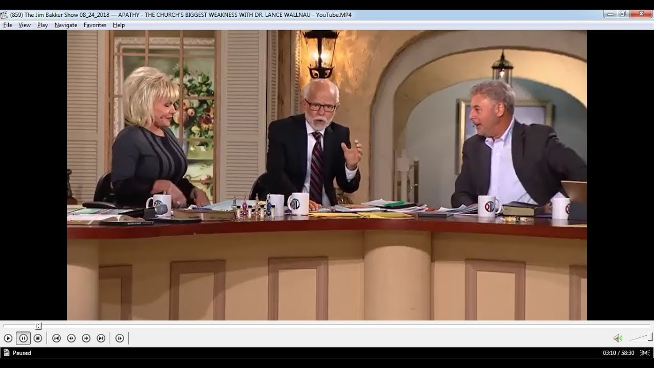 The Jim Bakker Show - August 24, 2018: Apathy: The Church's Biggest Weakness
