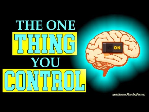 The One Thing You Control. Subconscious Mind Power, Wealth, Law of Attraction