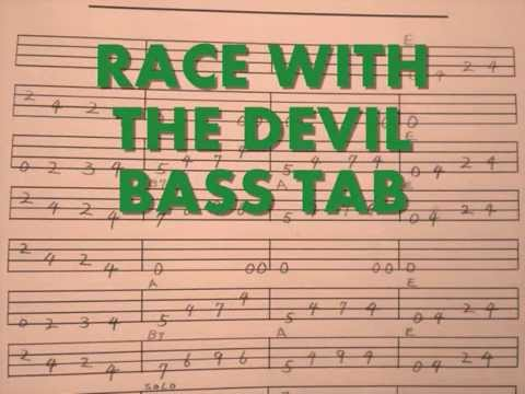 Race with the devil stray cats tab