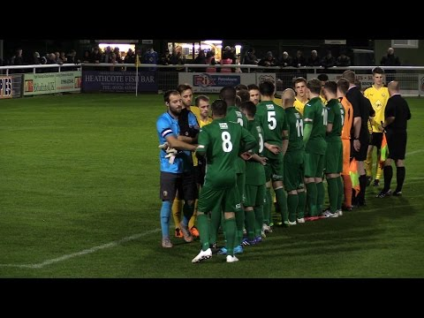 Birmingham Senior Cup: Leamington vs Bedworth United - Match Highlights - October 20th 2015