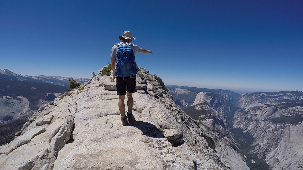 Hiking Clouds Rest Yosemite National Park Youtube