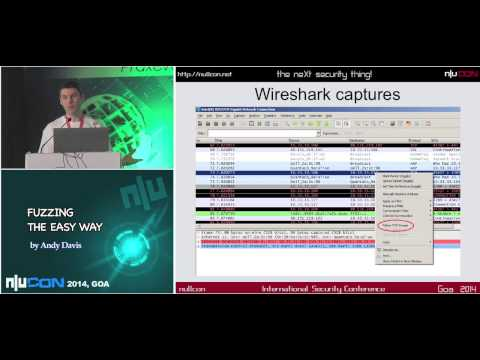 nullcon Goa 2014:- Fuzzing the easy way using Zulu by Andy Davis