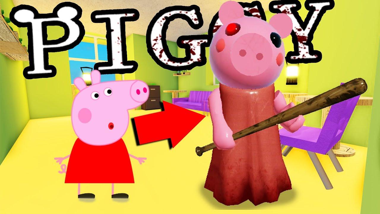 PEPPA PIGS ACTUAL HOUSE IN ROBLOX PIGGY...