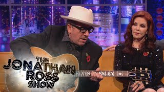 Elvis C Plays Elvis P's Guitar - The Jonathan Ross Show