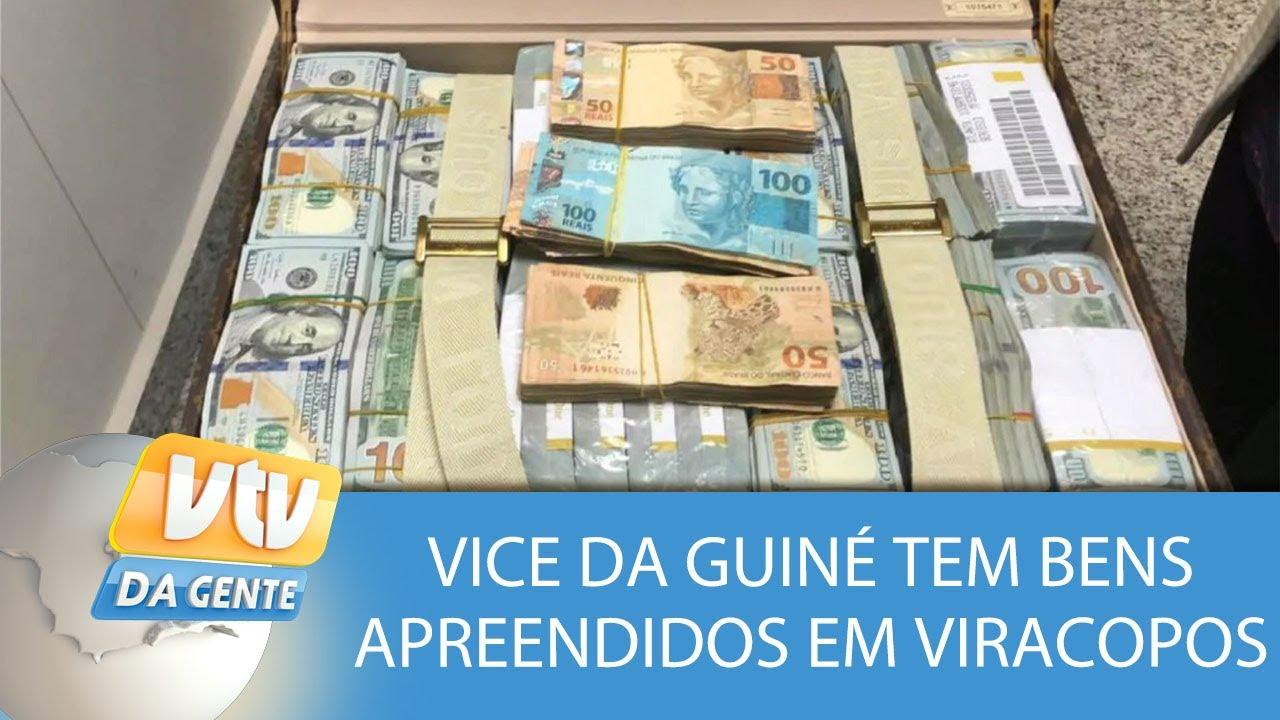 aa60da34c58 Vice-presidente da Guiné Equatorial tenta entrar com US  16 milhões no  Brasil