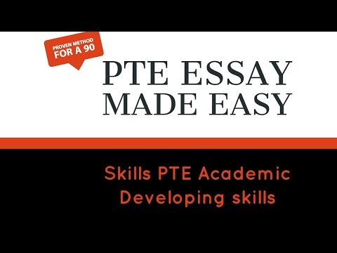 PTE Gate : PTE ESSAY MADE EASY: 100% TESTED STRATEGY