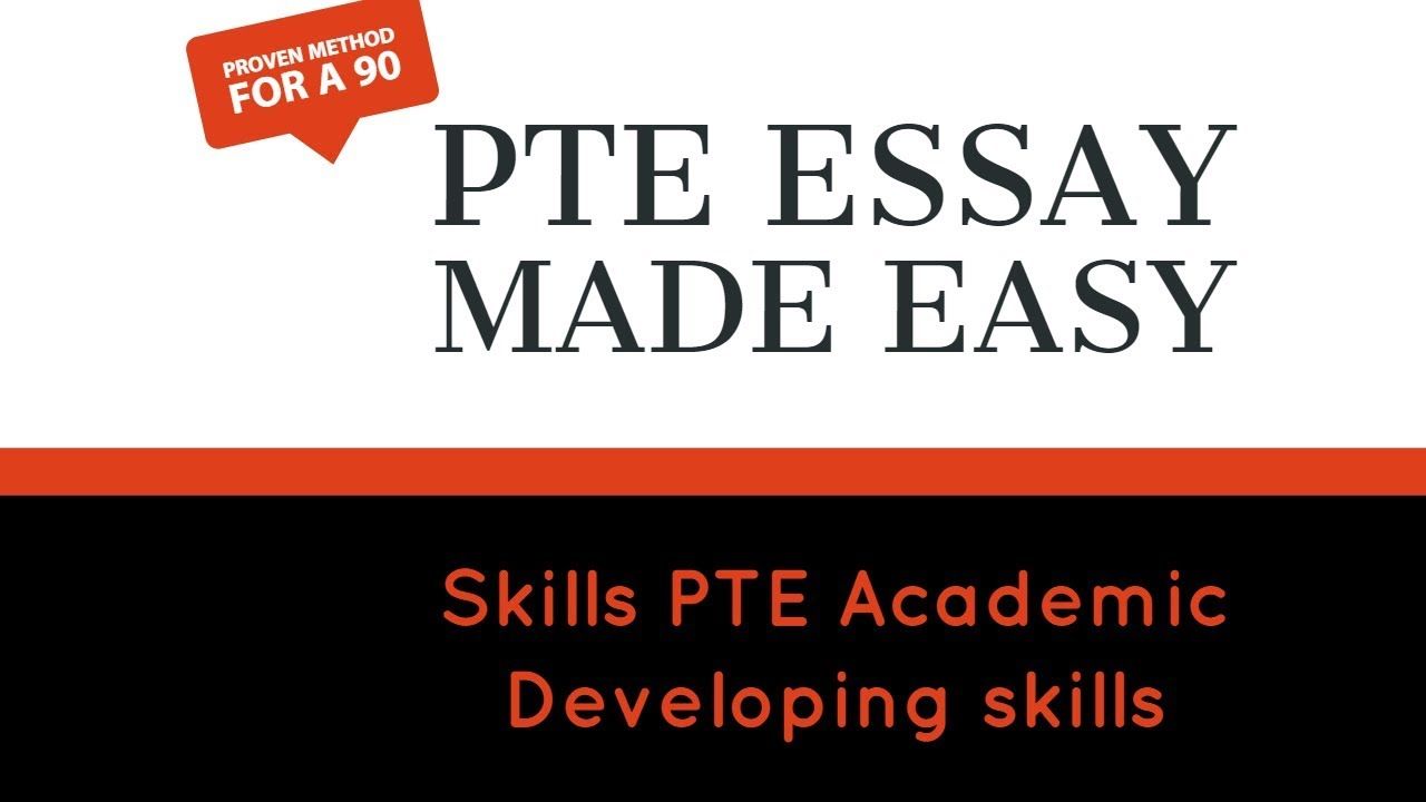 pte gate pte essay made easy % tested strategy  pte gate pte essay made easy 100% tested strategy
