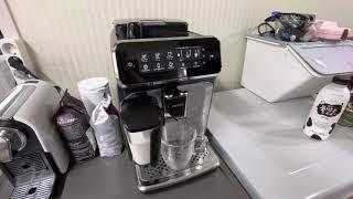 스팀밀크 커피 전자동 머신 필립스 라떼고