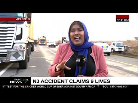 N3 accident claims nine lives - YouTube