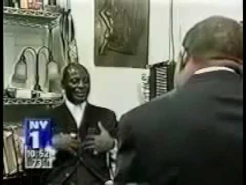 [[Khallid Abdul Muhammad]] - interview on NY1 about MYM in Harlem