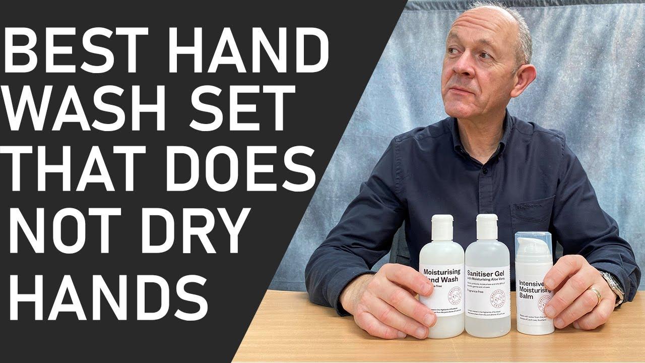 The Best Hand Wash, Sanitiser & Moistursier Set | Kills Germs Without Damaging Hands