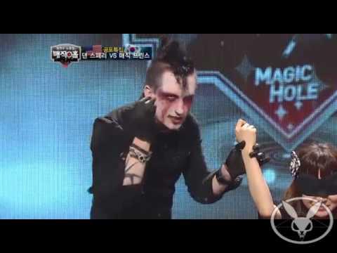 Dan Sperry performs Voo Doo on popular Korean TV show