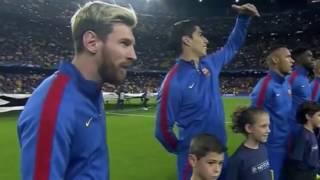Download lagu Camp Nou Whistles UEFA UCL Anthem vs. Manchester City