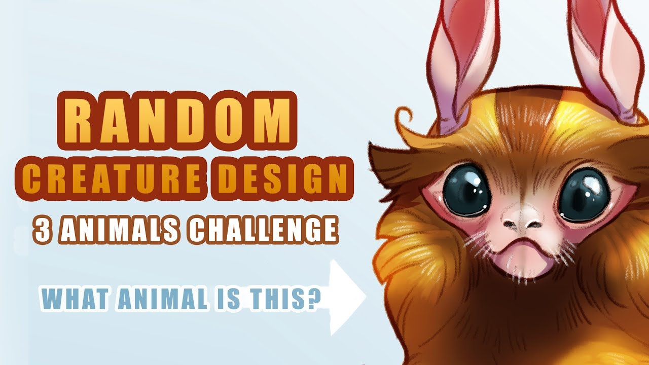 random creature design the magic of 3 design tips youtube