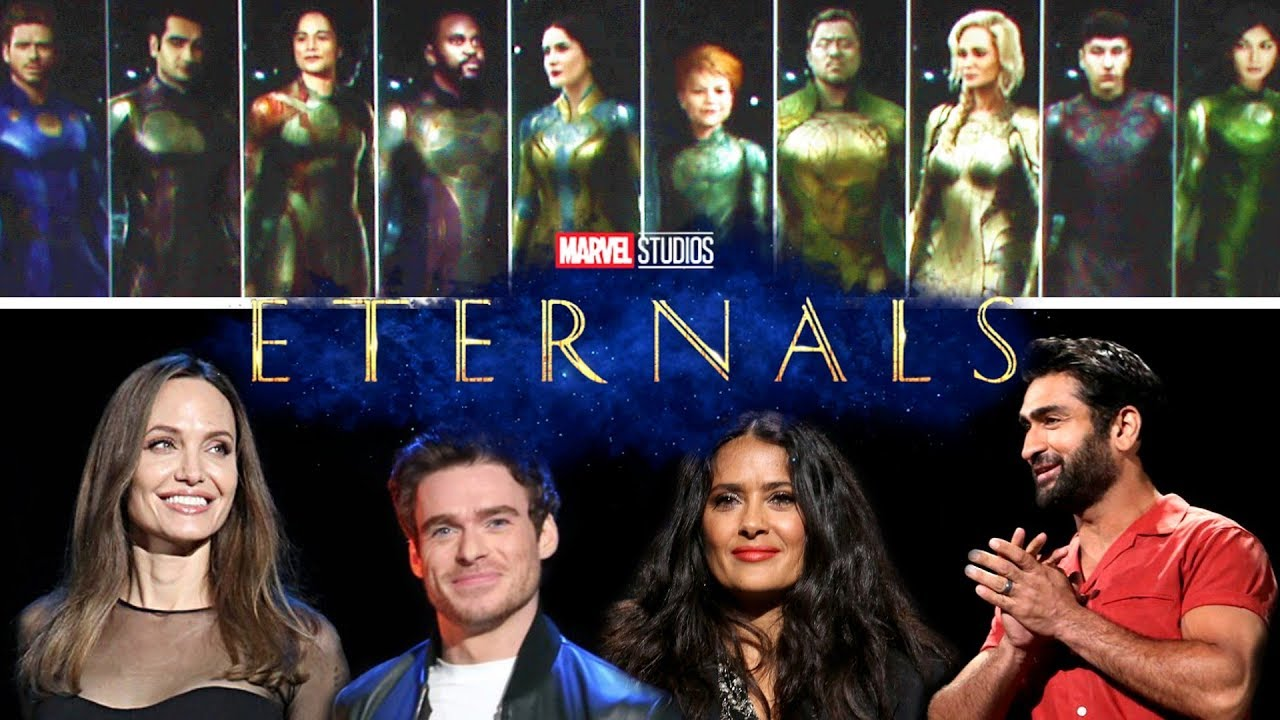 GODS D23 Panel Material (2019) Marvel super heroes movie - YouTube