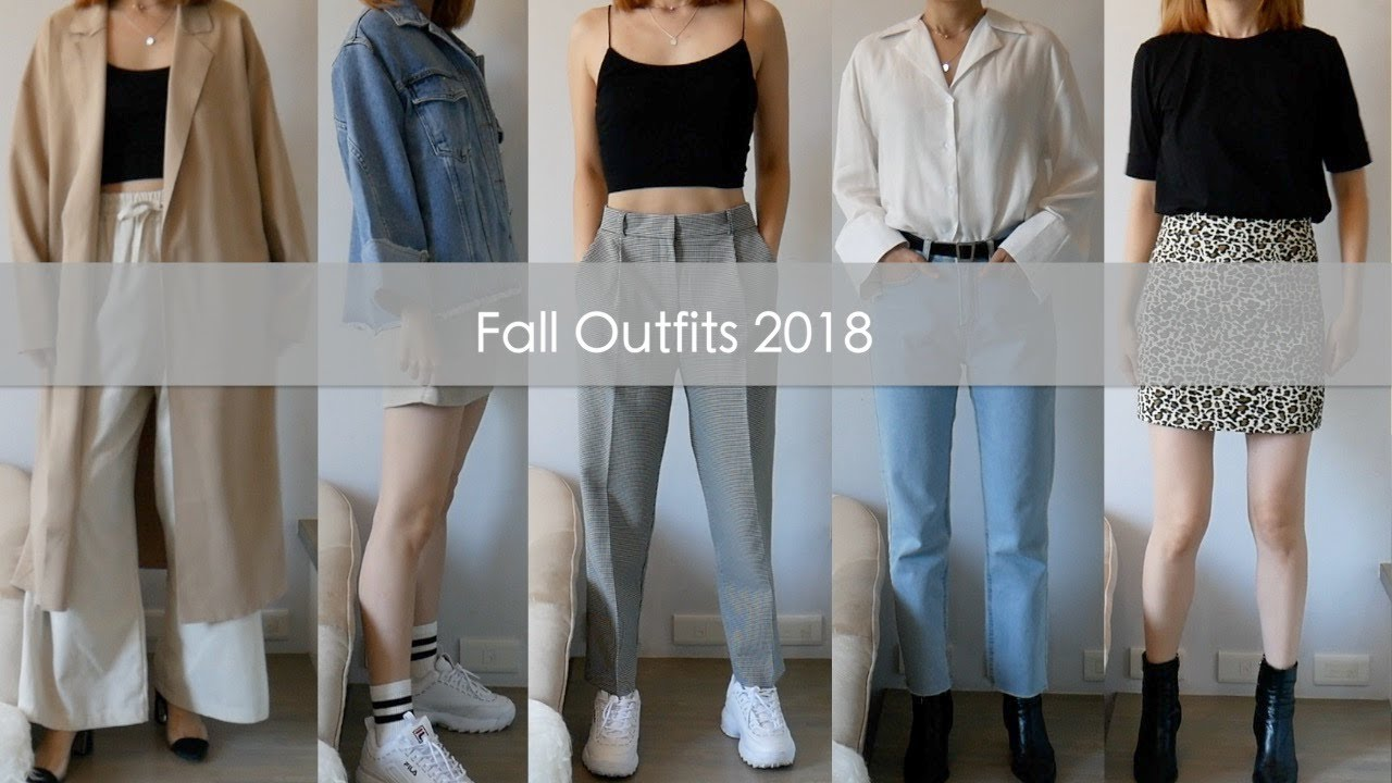 [VIDEO] - FALL OUTFITS 2018|| Autumn Outfit Ideas 2