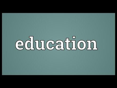 Education Definition
