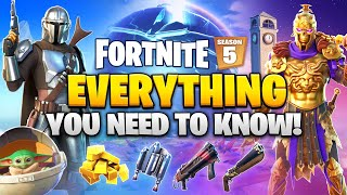 Fortnite SEASON 5 - EVERYTHING YOU NEED TO KNOW!