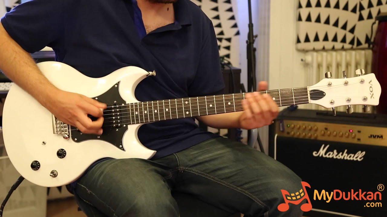 Vox Series 22 Guitars SDC22 - Elektro Gitar İncelemesi (Hızlı ...