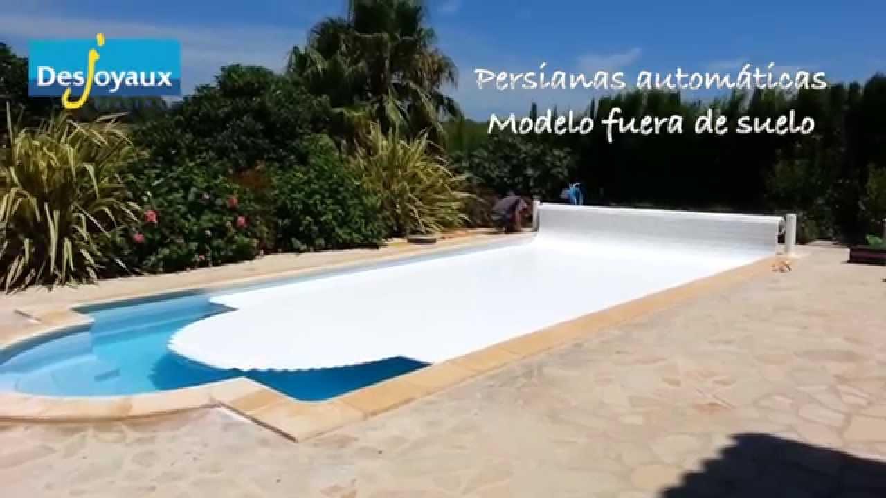 Desjoyaux piscinas mantas de invierno y persianas for Mantenimiento piscina invierno