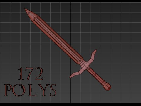 How to: Model a basic 3D Sword in 3Ds Max- (FAST AND EASY)