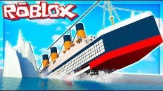 We survived??!! L Roblox Titanic w/Dan #1