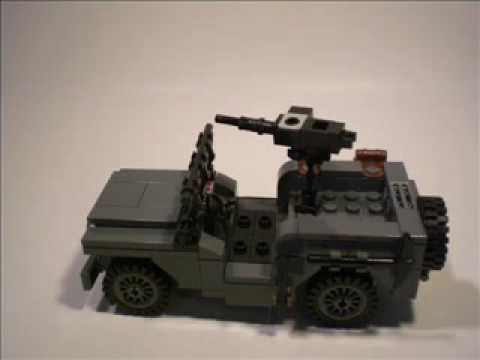 Lego Wwii Willys Jeep Instructions Youtube