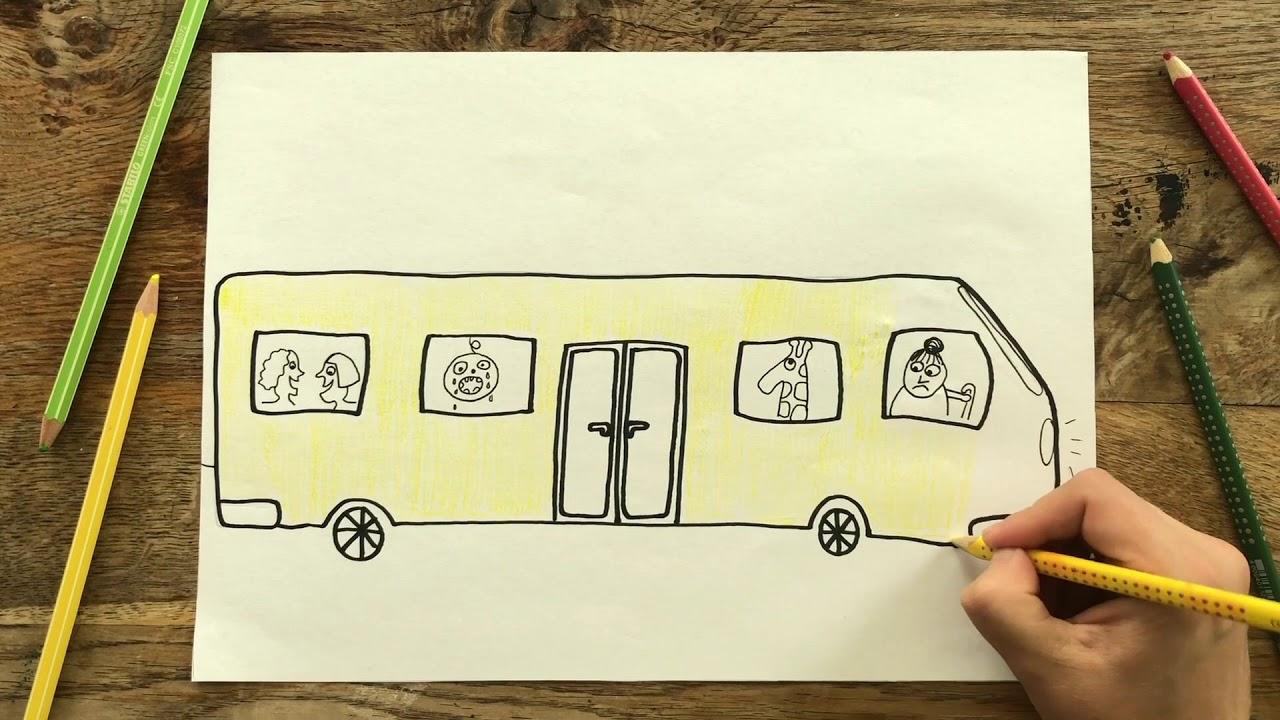 Lille Peter Edderkop I Hjulene på Bussen I I Danske børnesange med tegninger I Magiske Minutter