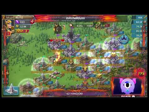 662 New Kingdom Attacking The Overlord  Lords Mobile