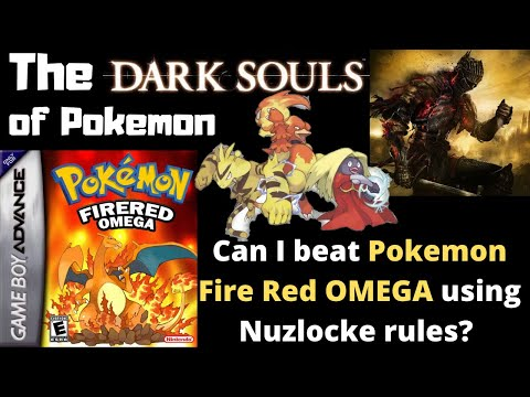 Dark Souls Of Pokemon, Can You Beat Pokemon Fire Red Omega With Advanced Nuzlocke Rules?  Challenge.