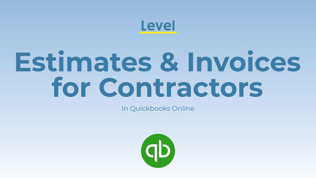 Estimates & Invoices for Contractors