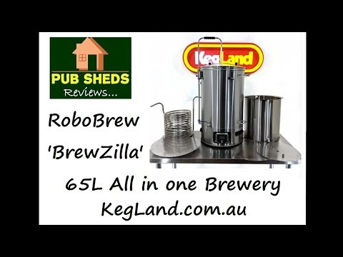 **REVIEW** Of RoboBrew 65L 'BrewZilla' All In One Brewery - Kegland.com.au