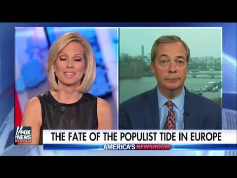 Nigel Farage: Le Pen will be French president in 2022. 8th May 2017
