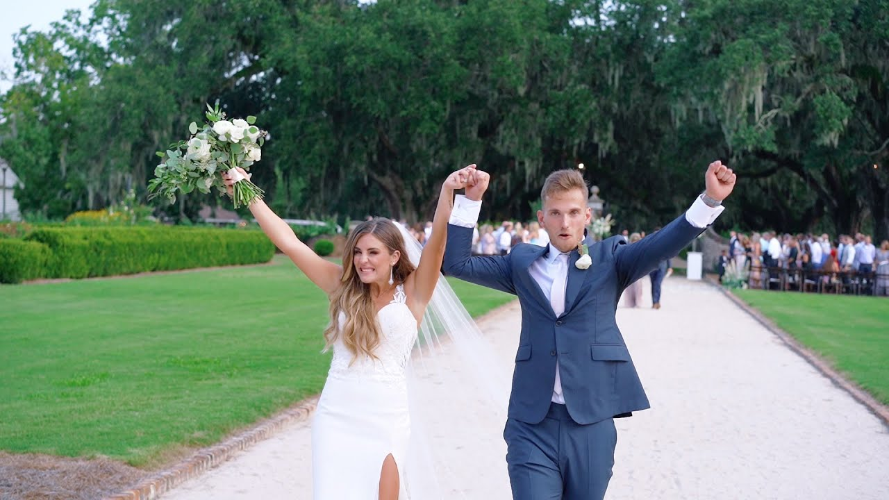 The most Breathtaking Wedding Teaser at Boone Hall - Charleston Wedding Videographer