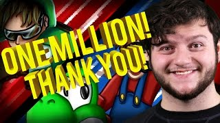 ONE MILLION SUBSCRIBERS! (Thank you, Best of Funny Moments!)