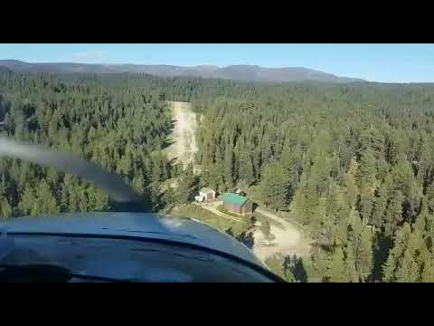 Approach into Deadwood Dam in a C182.mp4