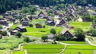 Shirakawa-Go Drone Footage Japan 4K 白 川 郷
