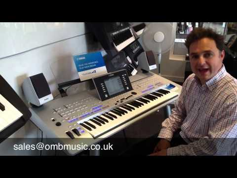 Using 'Music Finder' on Yamaha Tyros - Part One - Introduction