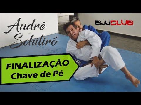 Contra ataque do Estrangulamento com Chave de pé - André Schiliró - Jiu Jitsu - BJJCLUB