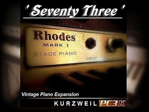 73 vintage piano expansion demo