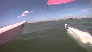 La Baule hobie 16 catamaran gopro hd