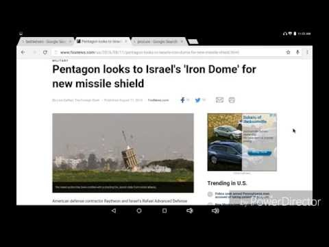 8-11-16Pentagon looks to Israel's 'Iron Dome' for new missile shield