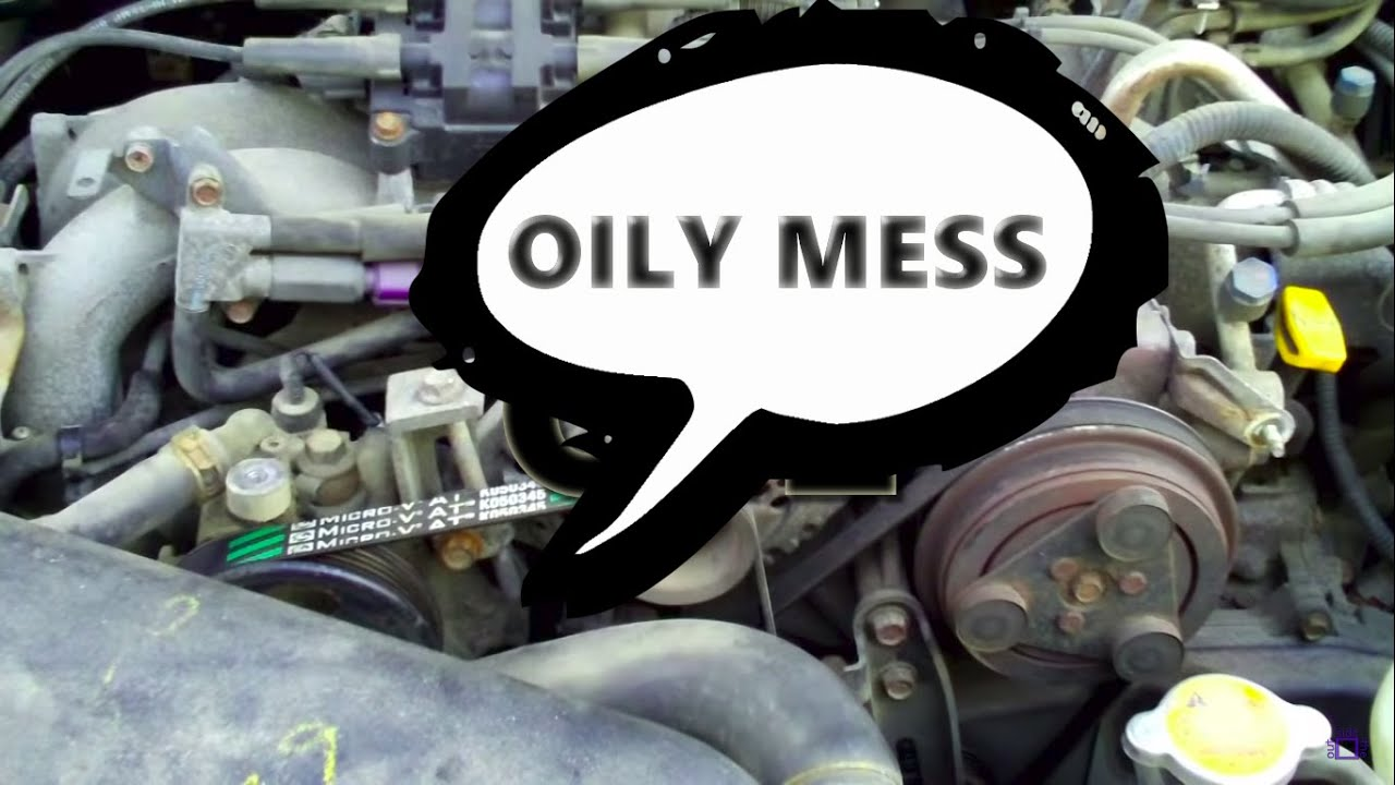 Oil For Subaru Outback >> Oil on TOP of Subaru Motor? FIXED - YouTube