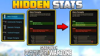 What Every Attachment Actually Does & Secret Stats Modern Warfare Doesn't Tell You | MW Tips | JGOD