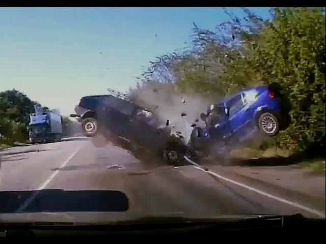 crazy russian drivers dash cam