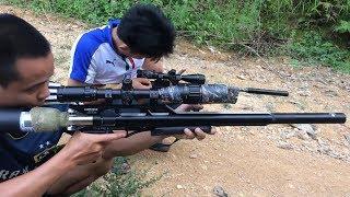 SÚNG HƠI PCP BẮN CHIM SIÊU ĐỈNH, CAO THỦ SÚNG PCP