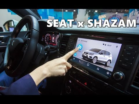SEAT Shazam In-Car Service - MWC 2018